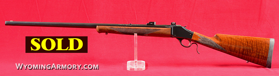Winchester Model 1885 45-70 Govt. Rifle For Sale Wyoming Armory