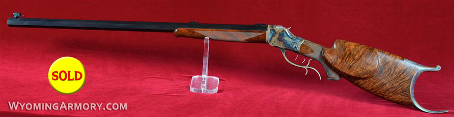Wyoming Armory Model 1885 .32-40 Schuetzen Rifle