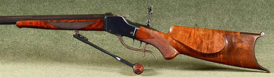 Wyoming Armory Precision Firearms Model 1885 High Wall Rifle .22 Long Rifle 2