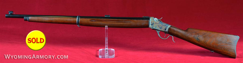 Wyoming Armory Custom .22LR Winchester 1885 Winder Silhouette Rifle