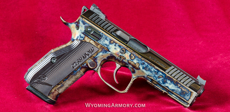 Wyoming Armory Color Case Hardening Gallery