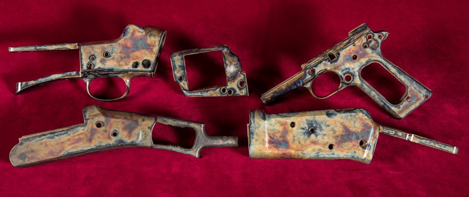 Color Case Hardening Pistol Rifle Revolver Parts Wyoming Armory