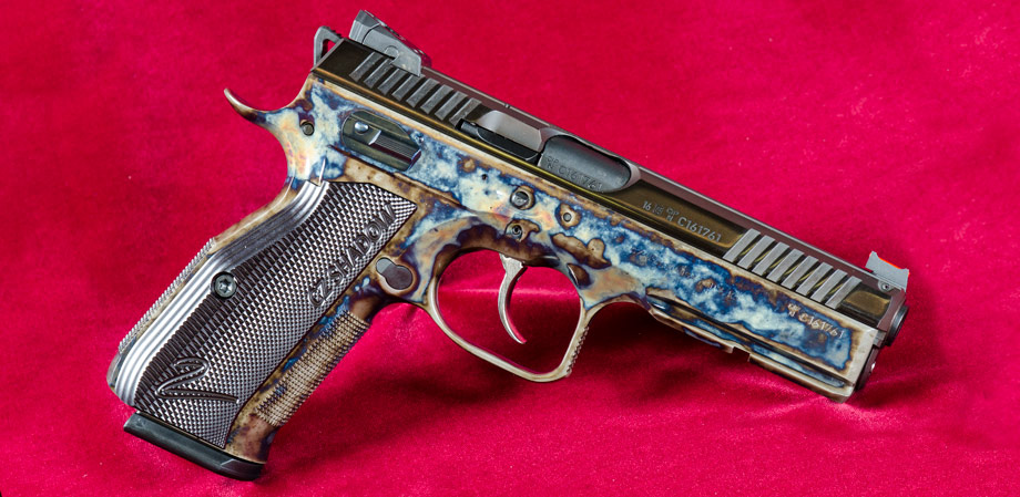 Color Case Hardening CZ Shadow Wyoming Armory