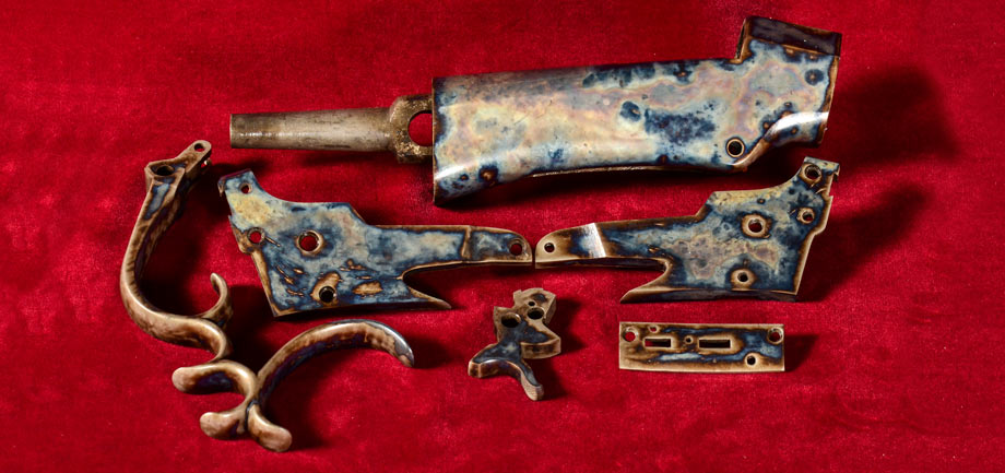 Color Case Hardening Model 1885 Rifle Parts Wyoming Armory