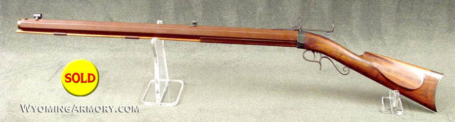 H.V. Perry Percussion Target Rifle For sale Wyoming Armory