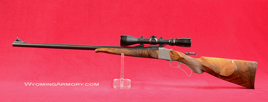 Miller Model F - Farrow 348 Winchester Rifle For Sale Image One Wyoming Armory