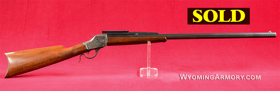Winchester 1885 High Wall 32-40 Rifle For Sale Wyoming Armory