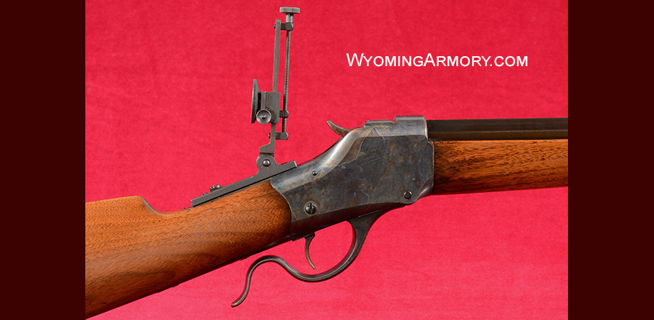 Winchester Model 1885 High Wall 40-65 Rifle For Sale Wyoming Armory Image 5